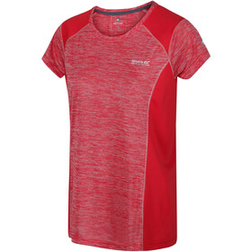 Regatta Breakbar V T-Shirt Femme, red sky